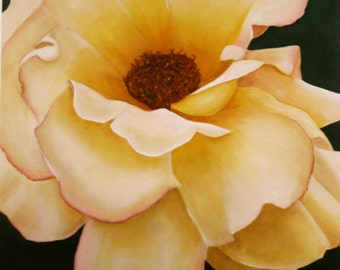 Giclee of Original Rose Oil Painting
