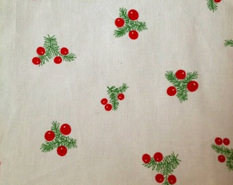 70s Swedish retro  vintage fabric with a nice pattern