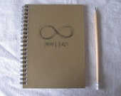 Forever and Always  (Infinity collection) - 5 x 7 journal
