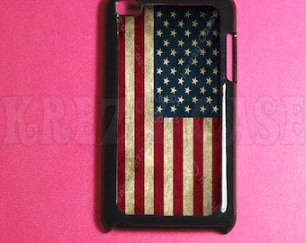 USA Flag Ipod Touch 4 Case - Ipod 4G Touch Case, 4th Gen Ipod Touch Cases