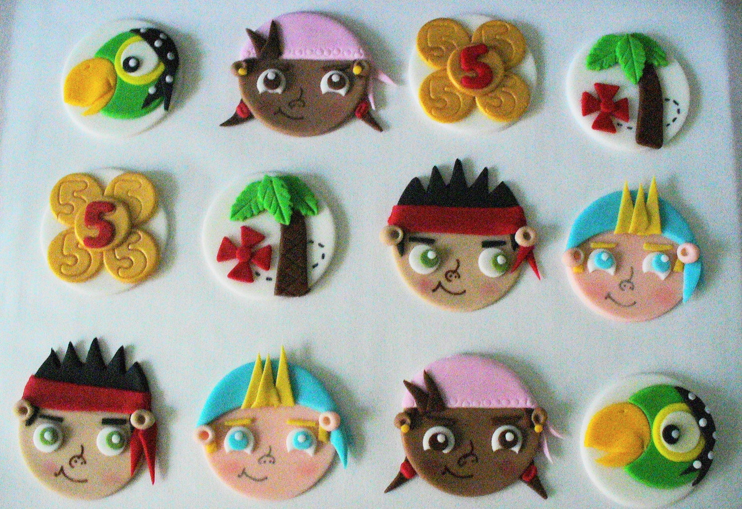 jake and the neverland pirates cupcakes - photo #11
