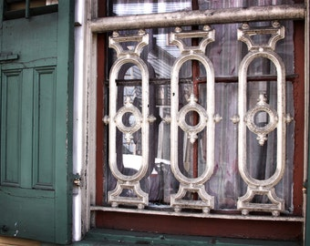 Architecture Photography - NOLA Window - 8x12 Fine Art Photograph - New Orleans, Travel Photography, Landscape, Window, French Quarter