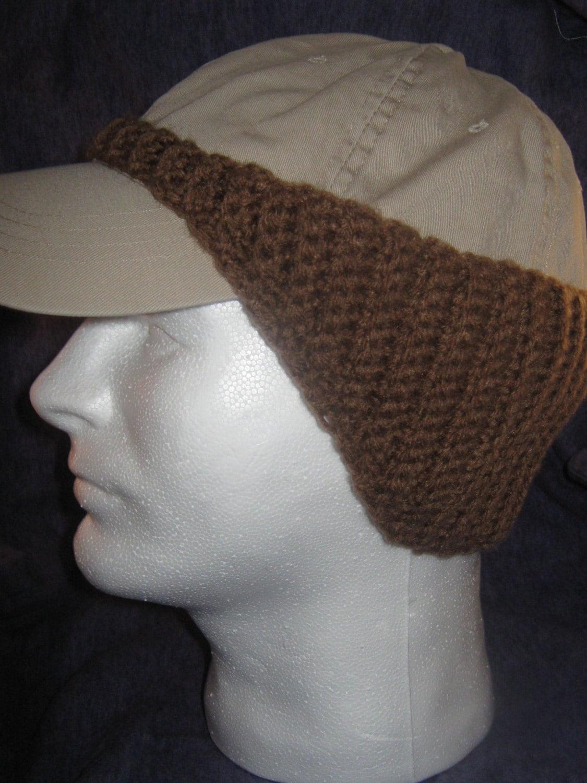 Pattern For Crocheted Baseball Cap Digital Download Pdf File