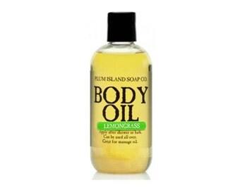 Body Oil: Lemongrass