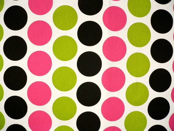 Drapery Fabric Upholstery Fabric Polka Dots Fabric Candy
