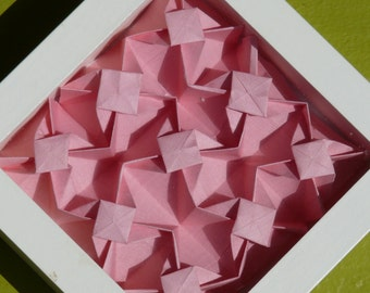 Origami Wall Art: Pink