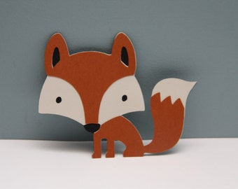 Fox Die Cut-Set of 8