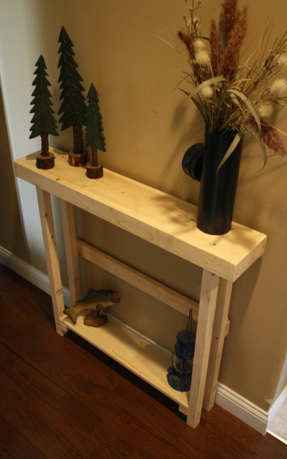 Rustic Natural Northern Pine Amp Douglas Fir Wood Tall Skinny