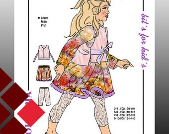 Patterns, 0813, vest / skirt, leggings (1108)