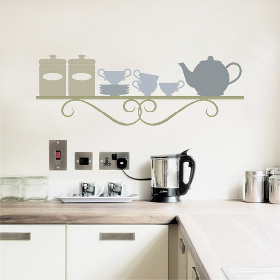 Kitchen Wall Decal Dining Room Wall Decals by justforyoudecals