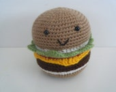 Mr Cheeseburger - HandmadebyFieke