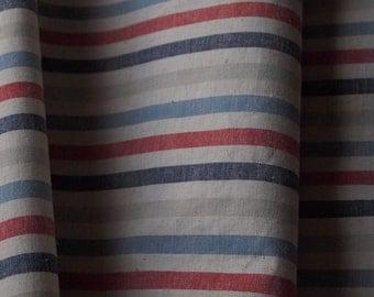 Vintage Stripe Linen - 1/2 Yard