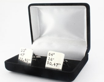 SALE - Cufflinks Box - Cuff Links Box