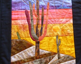 Tucson Sunset Wall Hanging