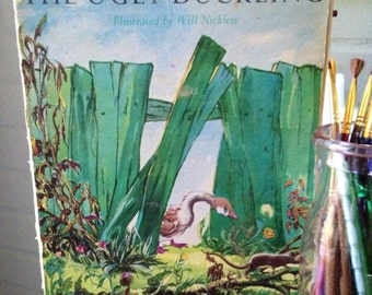 """Vintage """"The Ugly Duckling"""" Children's Book"""