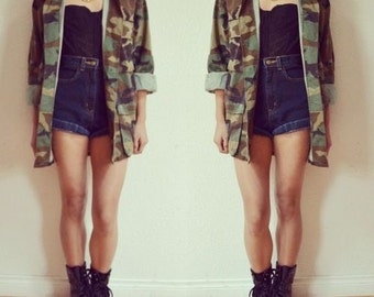 We Love Camo Jackets THIIIIIIIIIIS Much (Availablle in XS-4X)