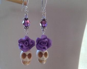 Lovely Lavender Lady Earrings