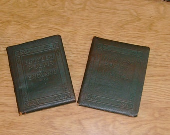 Little Leather Library, Anthologies, Collections, Mother Goose, Poems, America, England