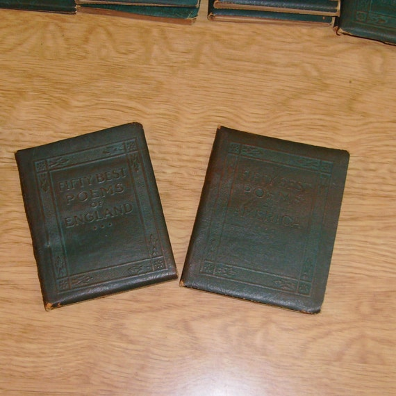 Anthologies: Little Leather Library Anthologies By DiVintageBlessings