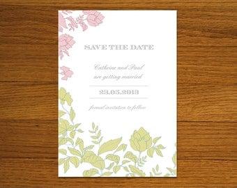 Save the Date PDF - Rosé