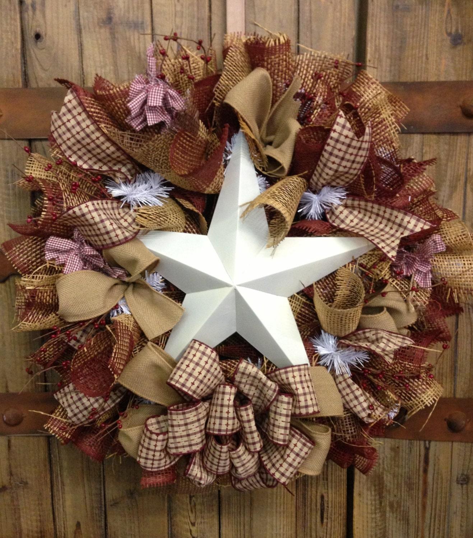 Primitive Star Wreath