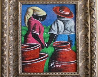 """Haitian Painting -""""Love At  First Sight"""""""