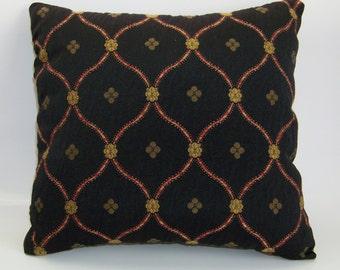 Classic Black Accent Pillow