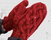 Wingra Mittens--knitting pattern PDF