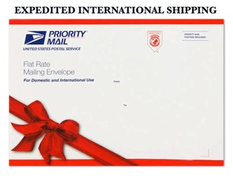 Expedited International Shipping