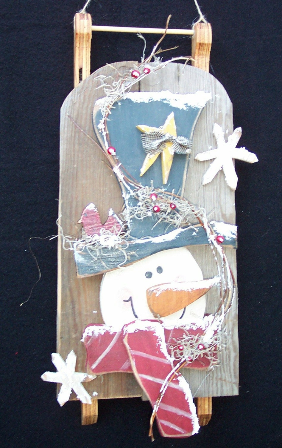 wooden craft ideas patterns barn wood snowman sled wood craft pattern by 5767