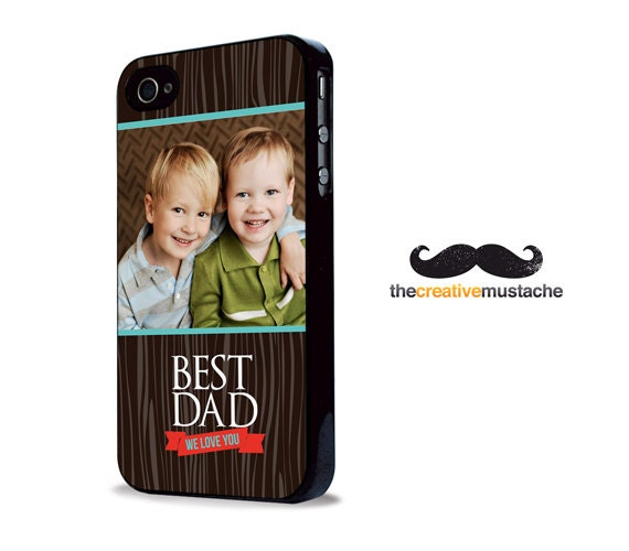 YOUR PHOTO - Custom iPhone 4 Case iPhone 5 Case - FATHERS Day - iphone 4 cover iphone 5 cover