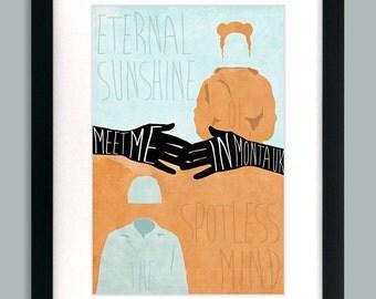 Eternal Sunshine of the Spotless Mind Inspired Original Art Print