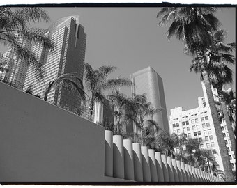 8x10 LOS ANGELES, CALIFORNIA black and white photography.
