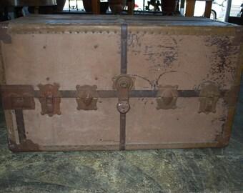 Antique Trunk Duluth Trunk Co Est 1888