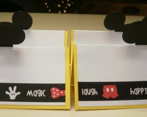 Mickey Mouse Treat Bag Toppers