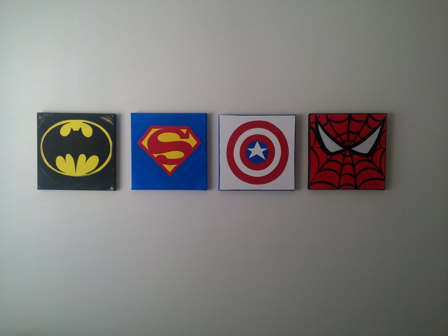 Custom made to order 4 pc canvas wall art by for Custom wall art
