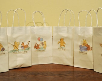 12 Classic Winnie the Pooh Party Bags