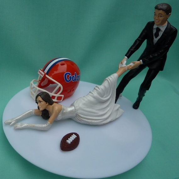 florida gator wedding cake toppers wedding cake topper of florida gators uf g football 14326