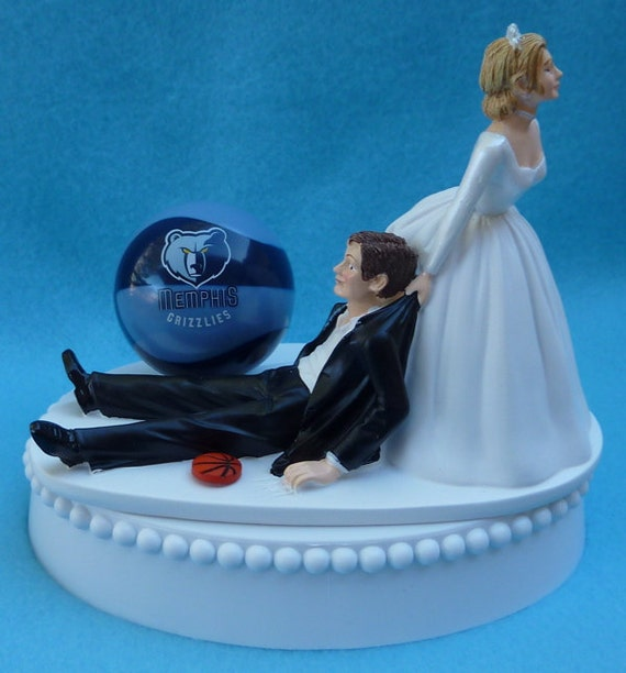 wedding cakes memphis wedding cake topper grizzlies basketball themed w 25020