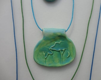 Trees....  Wearable Art Necklace, Mothers Day Gifts