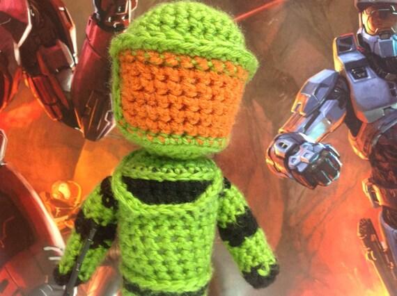 Halo Master Chief Crochet Pattern