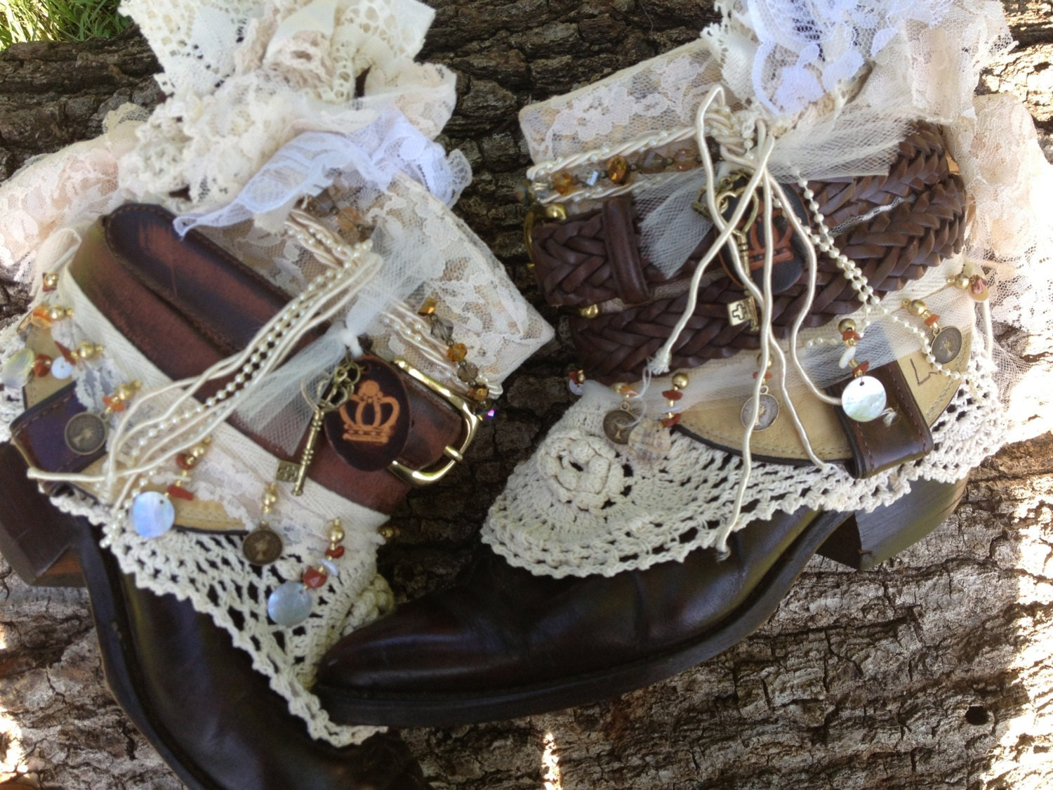 boho gypsy wedding boots made to ordercowboy boots western