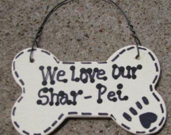29-2083 - 29-2083 We love our Shar-Pei or I Love My Shar-Pei