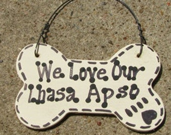 29-2083LA  I Love My Lhasa Apso or We Love Our Lhasa Apso