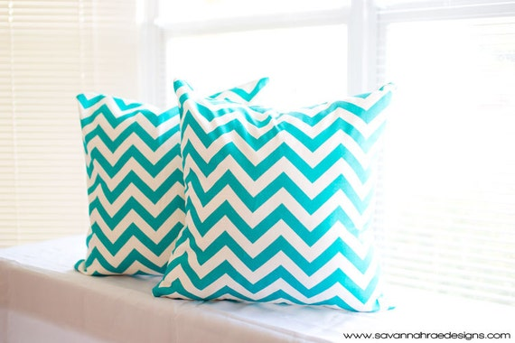 tiffany blue throw pillow covers two 18x18 by savannahraedesigns. Black Bedroom Furniture Sets. Home Design Ideas
