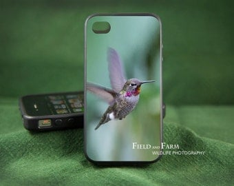 ANNAS HUMMINGBIRD   iPhone 6,  5/5s, 4/4s, Samsung Galaxy S3, S4, S5 Case