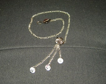 Front clasp necklace