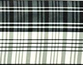 Vintage Taffeta Plaid  Ribbon - Pattern No. Florentine Color 11 (Black & White) ( 5.9 inches wide)