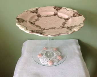 Pretty Candy/Serving Dish on Stand