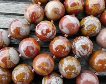 Noreena Jasper 12.5-13mm Round beads (ETB00224)